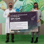 La Fundación Unoentrecienmil colabora en la investigación de un tratamiento para la leucemia infantil. Imagen de los responsables del proyecto.