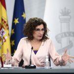 """El Gobierno pide """"máxima prudencia"""" ante el incremento de la incidencia de la COVID-19. Imagen de María Jesús Montero."""