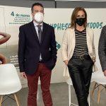 Participantes en la presentación de la campaña 'El VPH es cosa de todos'
