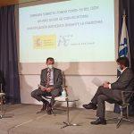 """Pedro Duque repasa """"los buenos resultados"""" del primer año del Fondo COVID-19. Foto de Pedro Duque durante la presentación"""