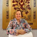 El CSIC prepara el inicio de los ensayos humanos de sus vacunas COVID. Foto de la presidenta, Rosa Menéndez