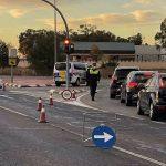 El Consejo Interterritorial tendrá que aprobar las medidas para Semana Santa. Imagen de un control de tráfico