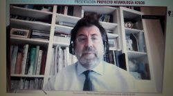 Carlos Egea en la webinar de la SEPAR