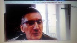 El doctor Larrañaga Garitaño en la webinar de SEPAR