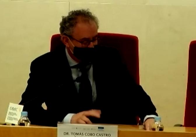 Tomás Cobo, presidente de la OMC.