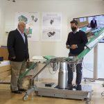 Presentación de la camilla robotizada COBY-1