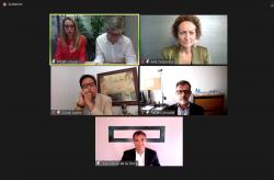 Los expertos participantes en el encuentro conexiones de Futuro