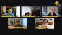 Panelistas de la segunda mesa del encuentro de Bamberg sobre logística y aprovisionamiento