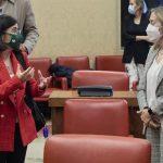 Carolina Darias y Ana Pastor. El PP preguntará en el Consejo Interterritorial los criterios del reparto de vacunas COVID-19