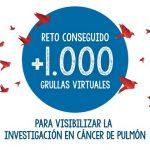 """Oncólogos españoles lanzan la campaña Grullas por el Cáncer de Pulmón"""""""