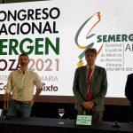 """""""El paciente COVID no es de Primaria ni de Hospitalaria ni de Urgencias"""". Foto de los participantes en el encuentro de Semergen"""