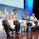 Sedisa analiza las posibilidades del 'modelo Amazon' aplicado a la salud. Foto de todos los ponentes.