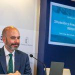 Castilla-La Mancha propone la consolidación del personal sanitario contratado durante la pandemia. En la foto, Íñigo Cortázar