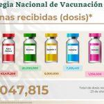 distribución vacunas méxico