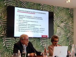 Jeanne-Marie Lecomte y Jean Charles Schhwartz,investiadores e impulsoores de bioprojet