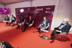 Experos en la rp del Congreso de hematología en Pamplona